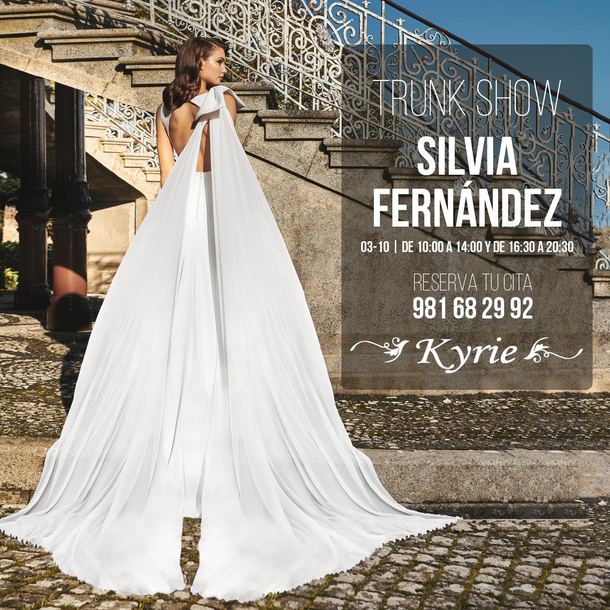 Trunk Show | Silvia Fernández vestidos de novia 2021