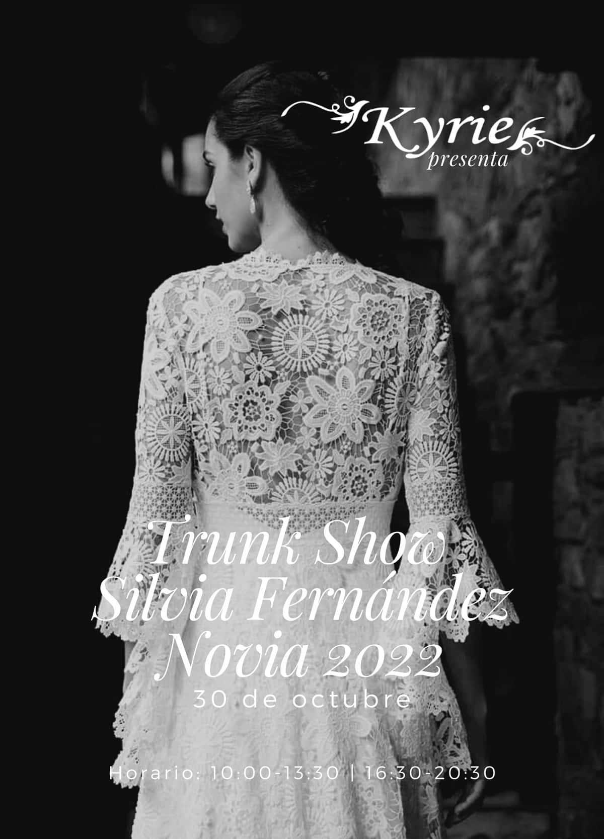 Presentación colección vestidos de novia Silvia Fernández 2022 en Kyrie