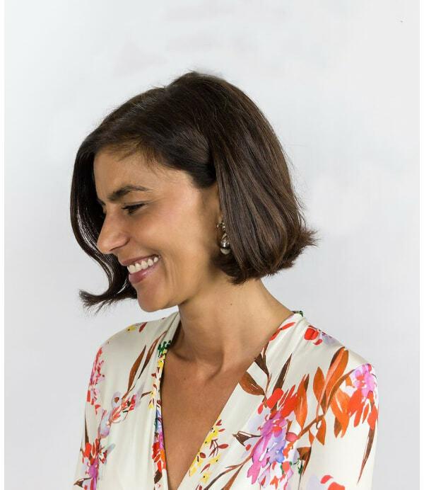 La diseñadora Silvia Fernández